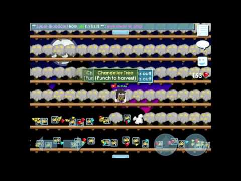 GrowTopia | Harvest Around 1500 Chand Trees , How Do A Get Profit 40-50 Wls