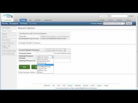 Payment Processing via Gateway/Merchant Account