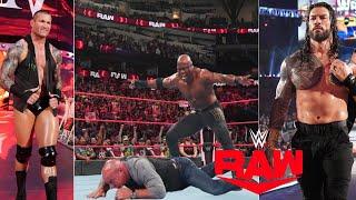 WWE Monday Night Raw 2nd August 2021 Highlights, John Cena vs Roman reigns   Goldberg Attack Lashley
