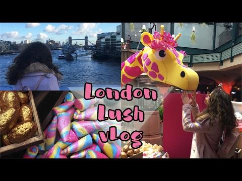London VLOG: Lush csodaország   Viszkok Fruzsi