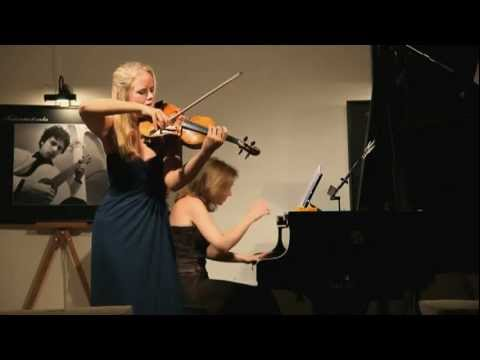 Lisa Jacobs plays W.Pijper Sonata no.1 - Tempo di menuetto tranquillo