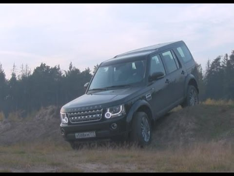 Land Rover Discovery 4 HSE (English subs) / Тест-драйв Лэнд Ровер Дискавери - Генетика