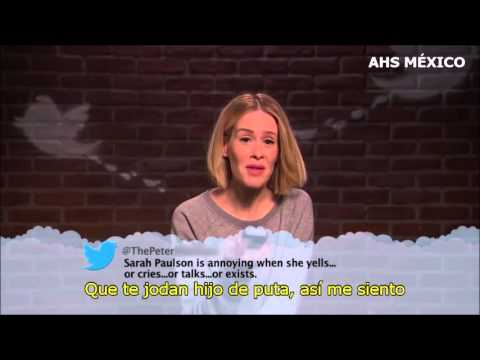 Celebrities Read Mean Tweets #9: Sarah Paulson