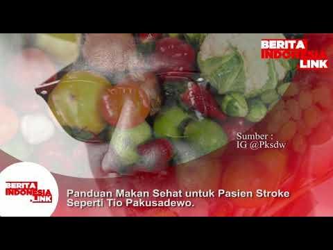 Panduan Makan sehat untuk pasien Stroke.