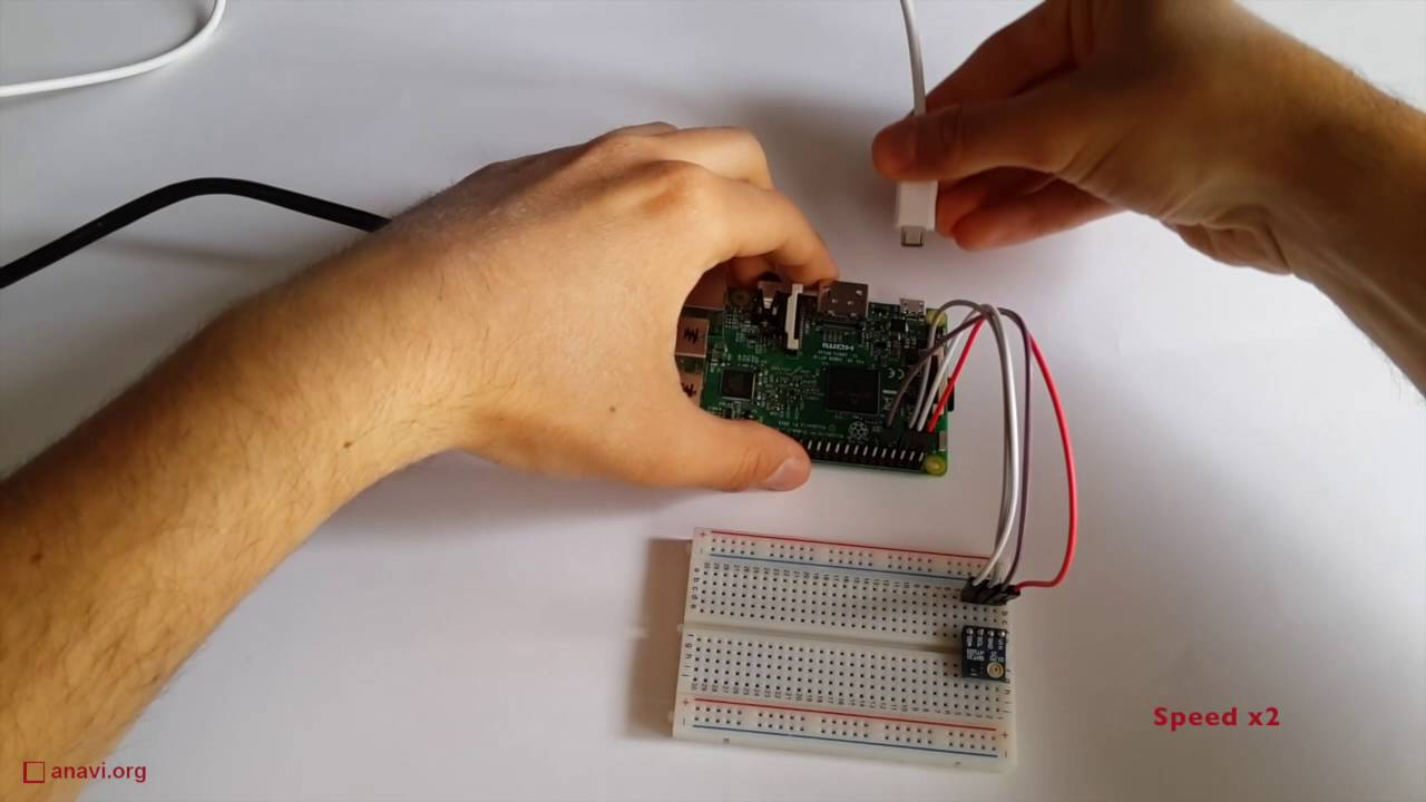 Detect Temperature and Humidity With Raspberry Pi and HTU21 / SHT21