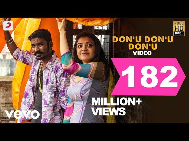 Maari - Don'u Don'u Don'u Video | Dhanush, Kajal | Anirudh | Super Hit Song