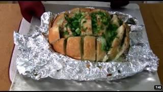 Football Finger Food 4 - Super Cheesy Bread