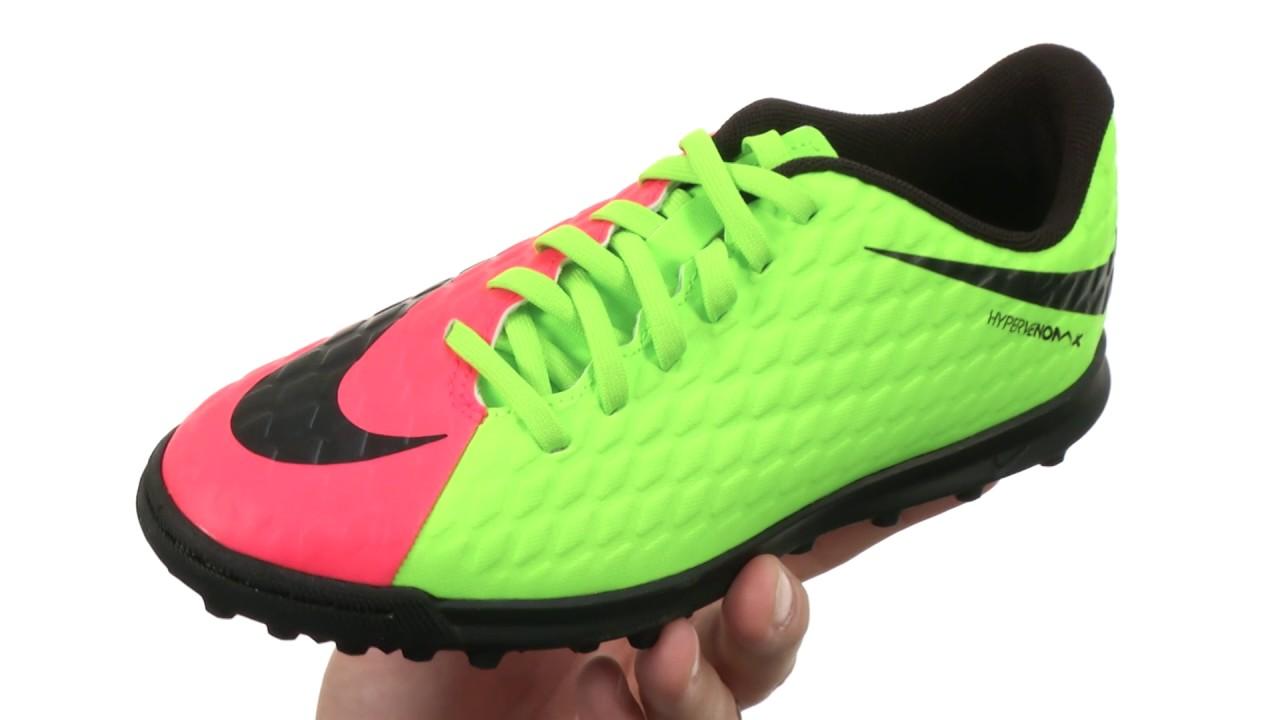 e3ce02e2b538 Nike Kids Hypervenom Phade III TF Soccer (Little Kid Big Kid) SKU 8799869