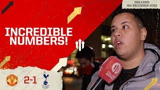 PUTTING UP INCREDIBLE NUMBERS! Man Utd 2-1 Tottenham Fan Cam