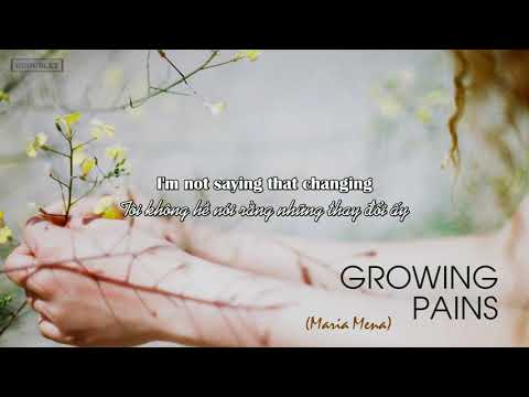 [Vietsub+Lyrics] II Growing Pains - Maria Mena