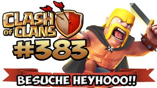 CLASH OF CLANS #383 ★ BESUCHE AM SAMSTAG ★ Let's Play COC ★ German Deutsch HD Android IOS