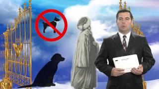 """Притча №10.  Человек с собакой в Раю. Информационная группа """"Alisa""""."""