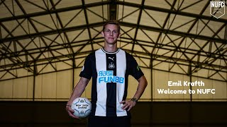 Emil Krafth | Welcome To Newcastle United | Skills & Goals