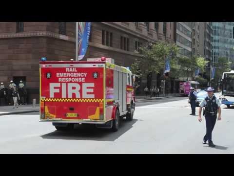 Fire And Rescue Nsw Flyer 1 Sev Rail Emergency