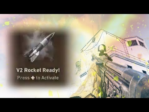 "WORLD'S FIRST ""V2 ROCKET"" NUKE GAMEPLAY IN COD WW2"