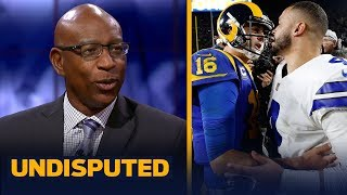 Eric Dickerson on whether Dak should get a bigger contract extension than Goff | NFL | UNDISPUTED