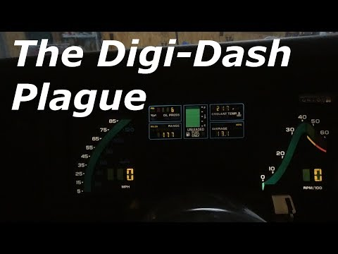 1984 Corvette Instrument Cluster Issues And Car Update