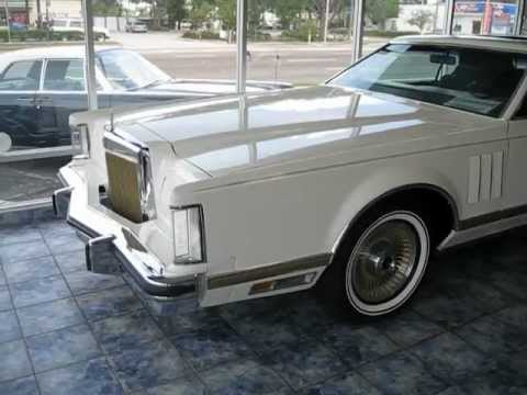 Spotless 1979 Lincoln Mark V Collectors Series  YouTube