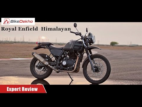 Royal Enfield Himalayan | First Ride Expert Review | BikeDekho.com