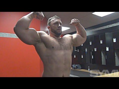 Bodybuilder Bill (Cap) Jones Trains Chest and Shoulders 14 Week Out