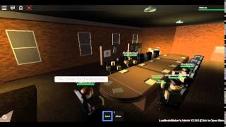 Roblox | First HR Meeting | 7/10/2015 | 29th Infantry | Part 1