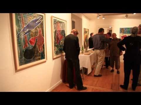 Vernissage exposition Daniel Humair à la Galerie N...
