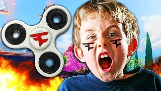 FAKE FAZE MEMBER BREAKS HIS FIDGET SPINNER IN 1V1! (Black Ops 3 Trolling)