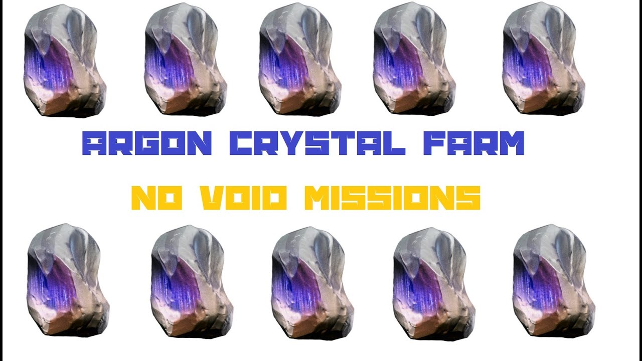 Argon crystal warframe