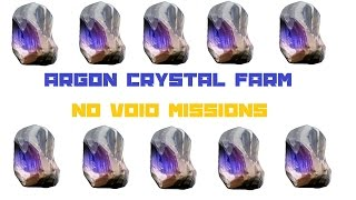 Warframe: Easy Argon Crystal Farm (No Void Missions) thumbnail