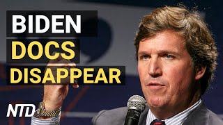 Biden docs mysteriously disappear: Tucker Carlson; US economy posts record growth | NTD