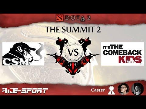 [ Final Match ]Crack-Smoking'Monkeys VS Jeen Comeback - Grand Final   - The Summit 2 by Laos E-Sport