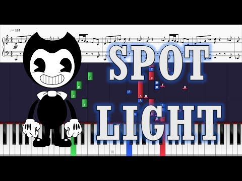 In the spotlight song sheets