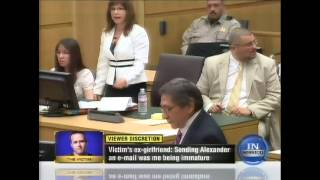 Gruesome Autopsy Photo of Travis Alexander's Gaping Neck Wound -- Shown Only in Court (Exhibit 205)