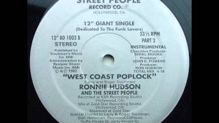 Ronnie Hudson And The Street People - West Coast Poplock instrumental