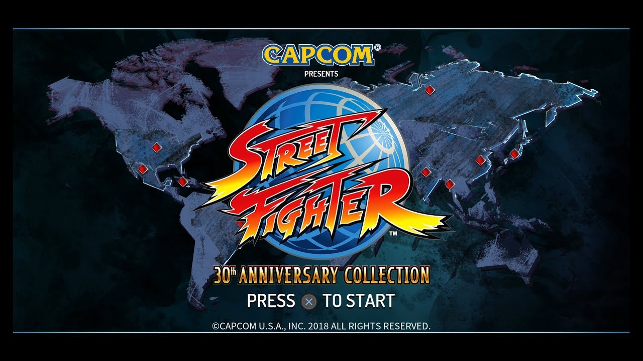 Repeat Street Fighter: 30th Anniversary Collection | Main