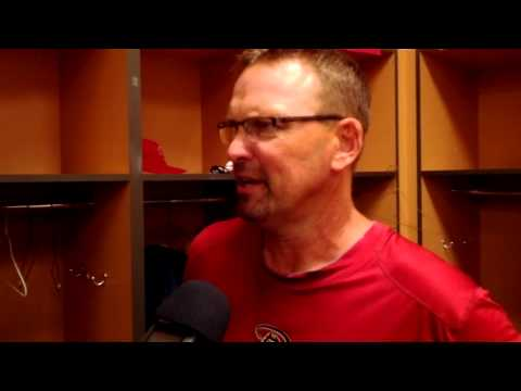 Dbacks great Mark Grace after the Alumni game