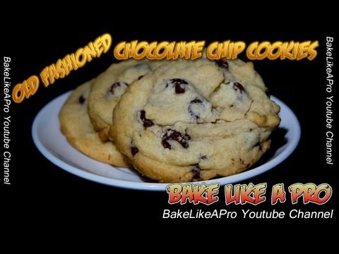 Old Fashioned Chocolate Chip Cookies Recipes  - You Gotta Try These !