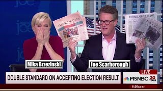 """Morning Joe Calls Out Media Re: Recount """"You keep getting it wrong"""""""