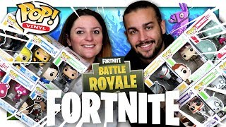 TOUTES LES FUNKO POP FORTNITE BATTLE ROYALE ! thumbnail