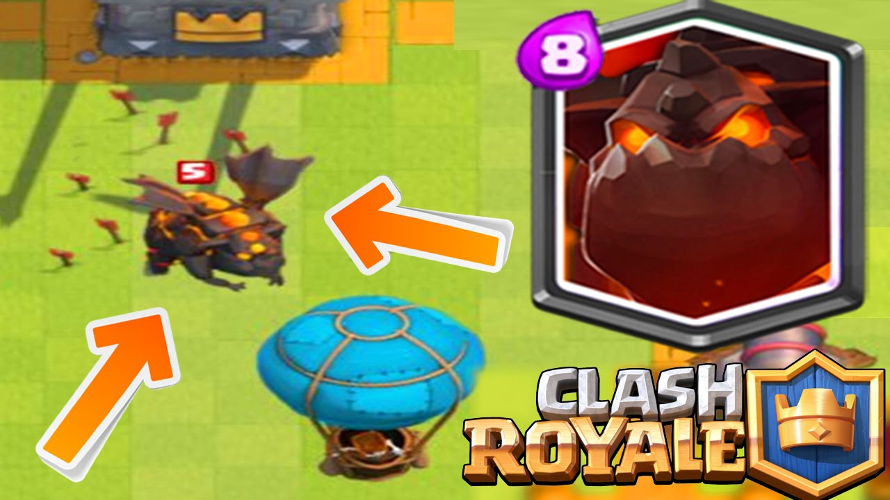 clash royal nouvelle carte NOUVELLE CARTE LEGENDAIRE Clash Royale : Le Molosse de Lave
