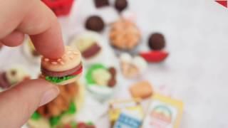 їжа для ляльок з полімерної глини як зробити