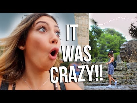 I can't believe this happened in GREECE! Travel Vlogs!!!