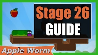 Apple Worm Level 26 Guide