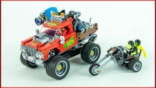 LEGO HIDDEN SIDE 70421 El Fuego's Stunt Truck Construction Toy UNBOXING