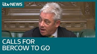 John Bercow faces down calls to resign over bullying claims | ITV News