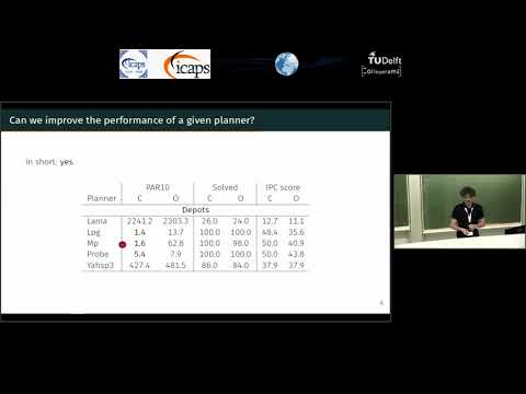 "ICAPS 2018: Mauro Vallati on ""A General Approach for Configuring PDDL Problem Models"""
