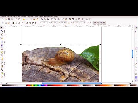INKSCAPE 7 - ¿Como recortar imagenes o remover fondos en INKSCAPE?