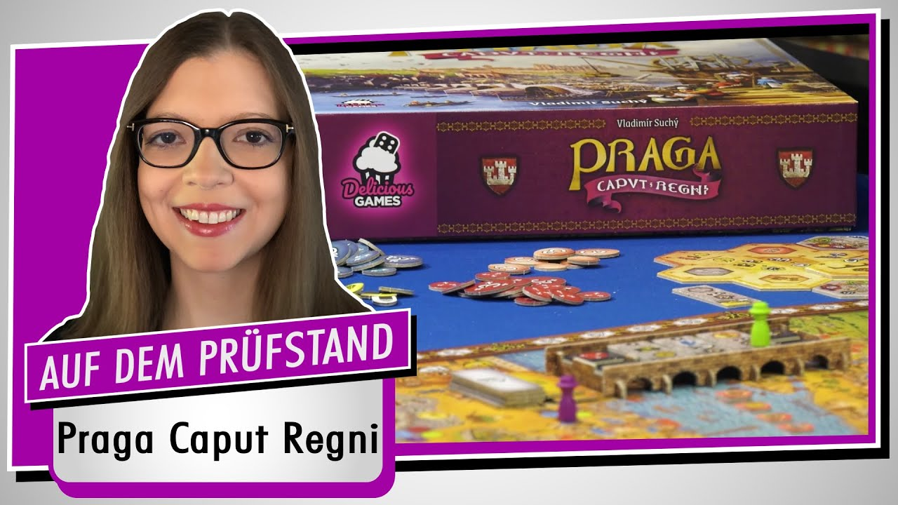 Spiel doch mal PRAGA CAPUT REGNI! - Brettspiel Rezension Meinung Test #376