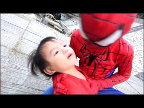 蜘蛛女孩01Spider Girl01。勇敢。