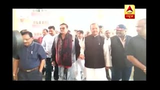 BJP MP Shatrughan Sinha and Congress leader Subodh Kant Sahay meet Lalu Yadav in hospital